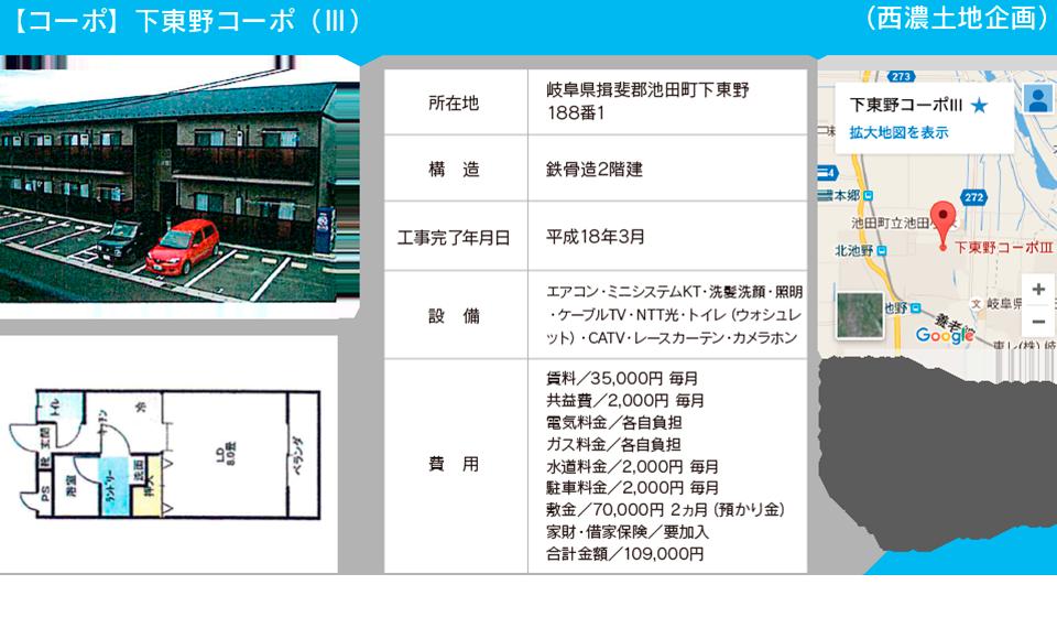 【コーポ】下東野コーポ
